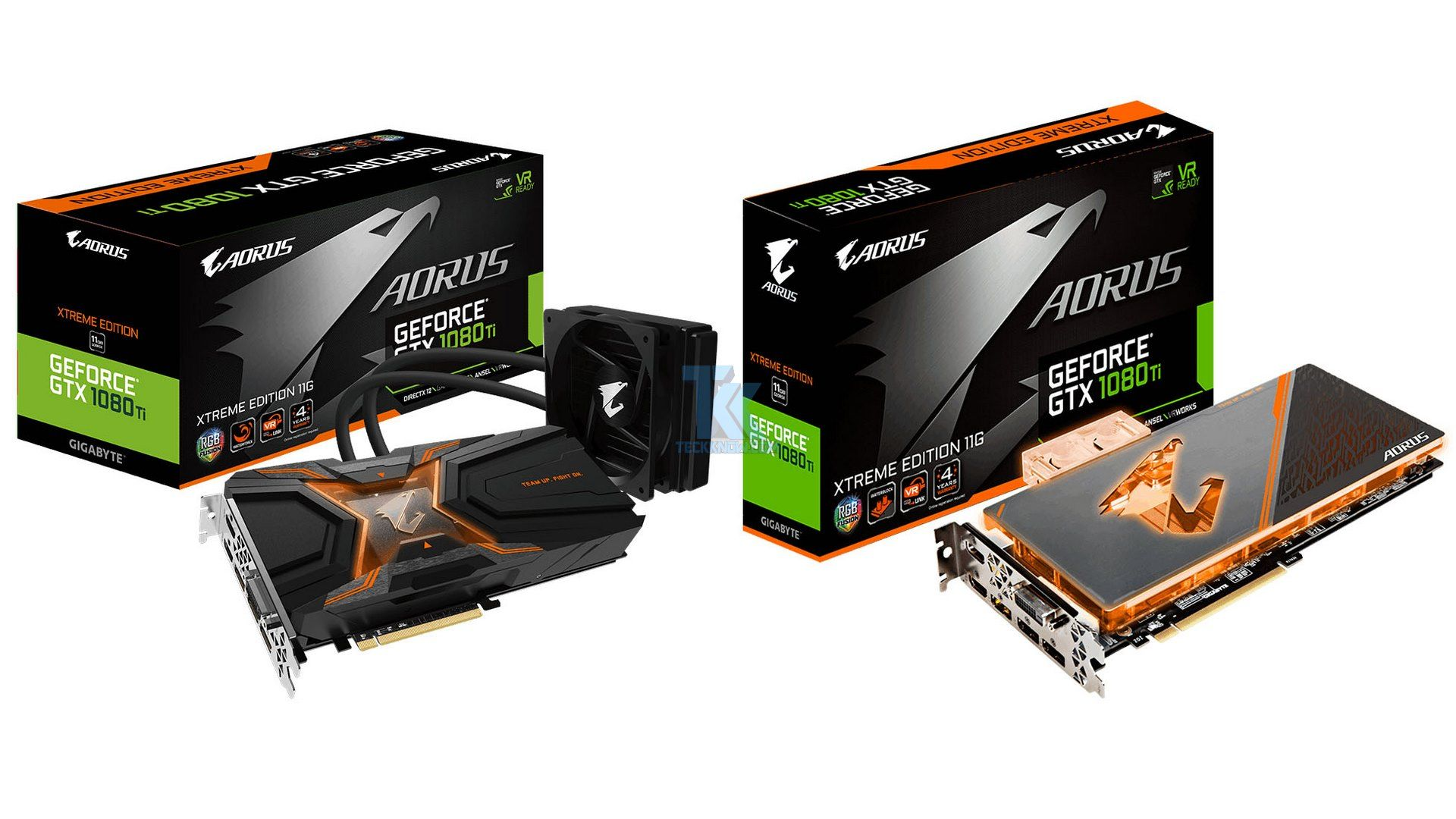 Gigabyte Launches Two Liquid Cooled Geforce Gtx 1080 Ti Graphics Cards From Aorus Graphic Card Gigabyte Cool Stuff