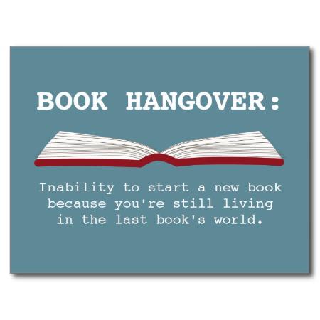 Funny Book Hangover Definition Book Lover Postcard | Zazzle.com