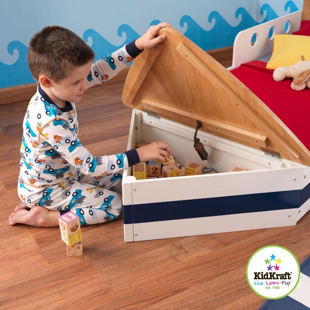 KidKraft Boat Toddler Bed 76251 Toddler Beds at
