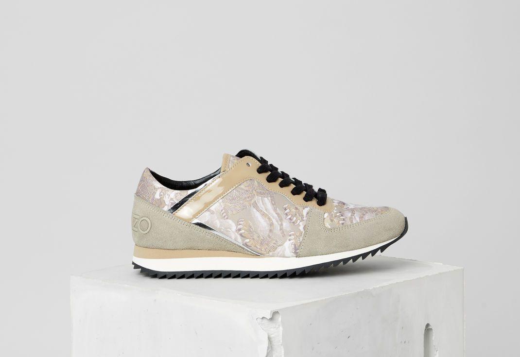 Baskets TigerBeigeKenzoBasket Run Sneakers K Flying PZNnk8w0OX