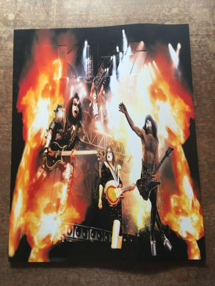 Kiss Tourbook The Farewell Tour 1973 2001 Booklet Christmas Concert Australia Tours Night Ranger