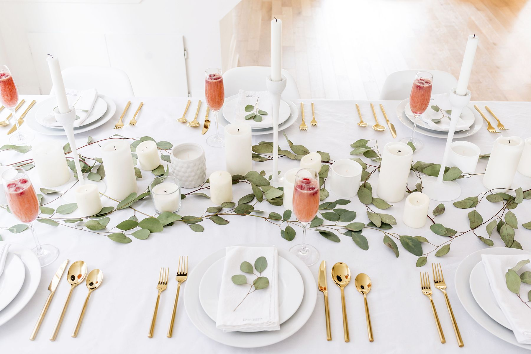 Simple, Modern Valentineu0027s Day Tablescape, Perfect For Winter | Happy Grey  Lucky