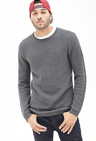Waffle Knit Sweater | FOREVER 21 - 2000122987