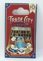 Walt Disney World 2010 Trade City USA Post Office Stitch LE Pin - $34.95