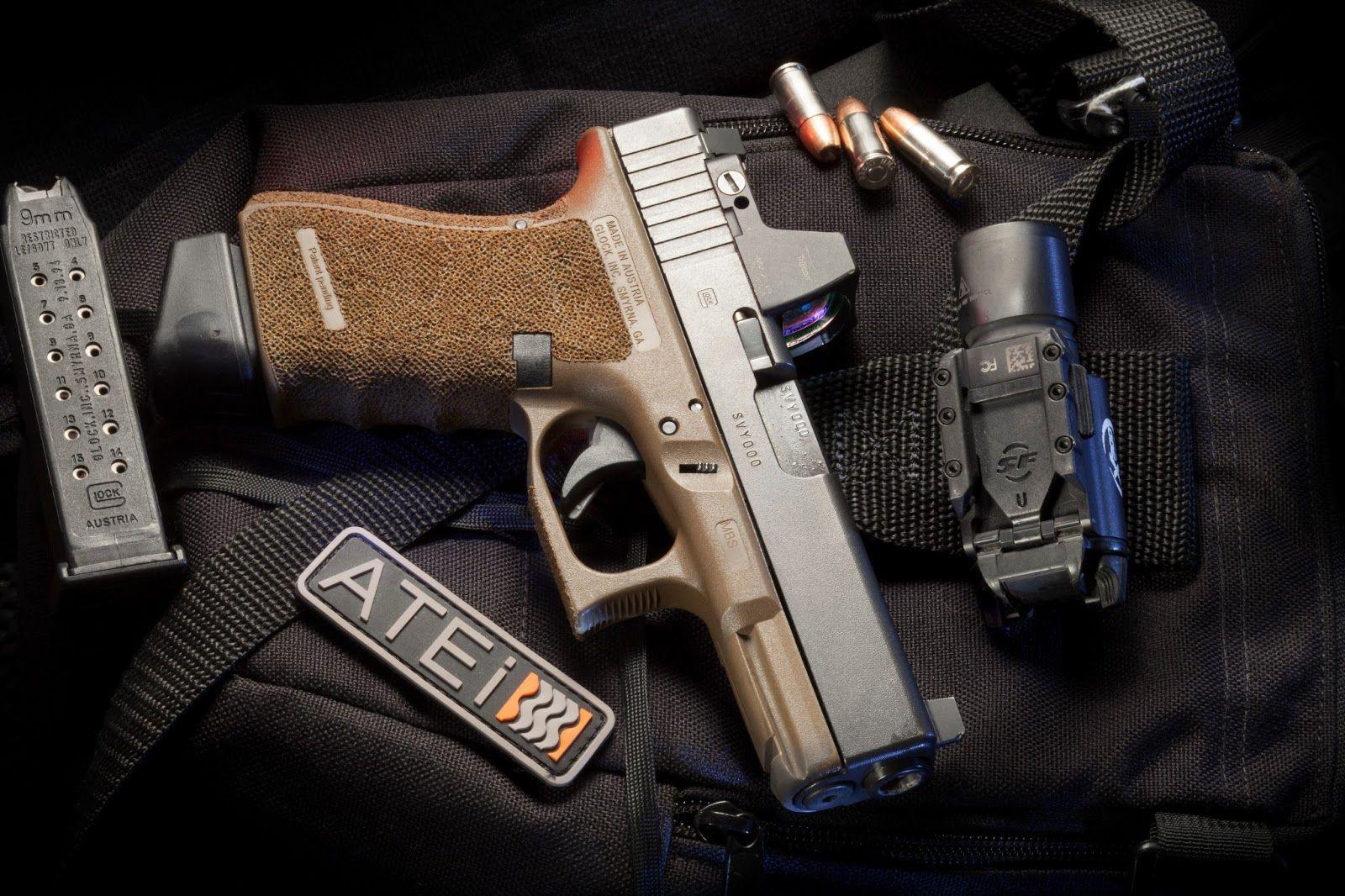 Full Of Weapons Glock 19 Gen 4 Fde Trijicon Rmr Install By Atei