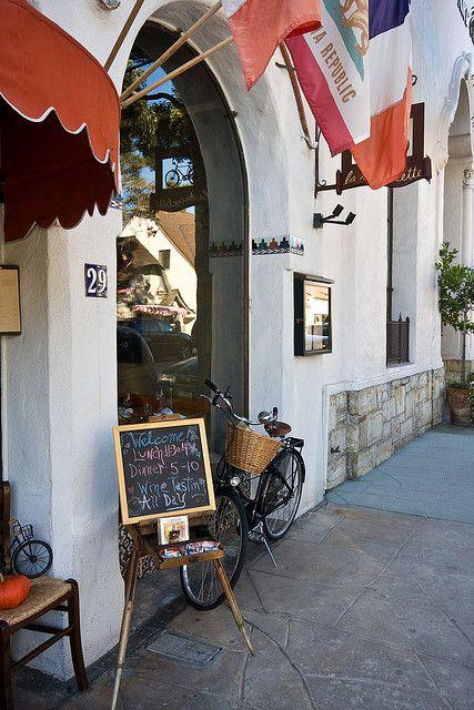 inspiration. le bicyclette, Carmel CA