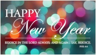 New Year Bible Verse Greetings Card | Faith Encouragement ...
