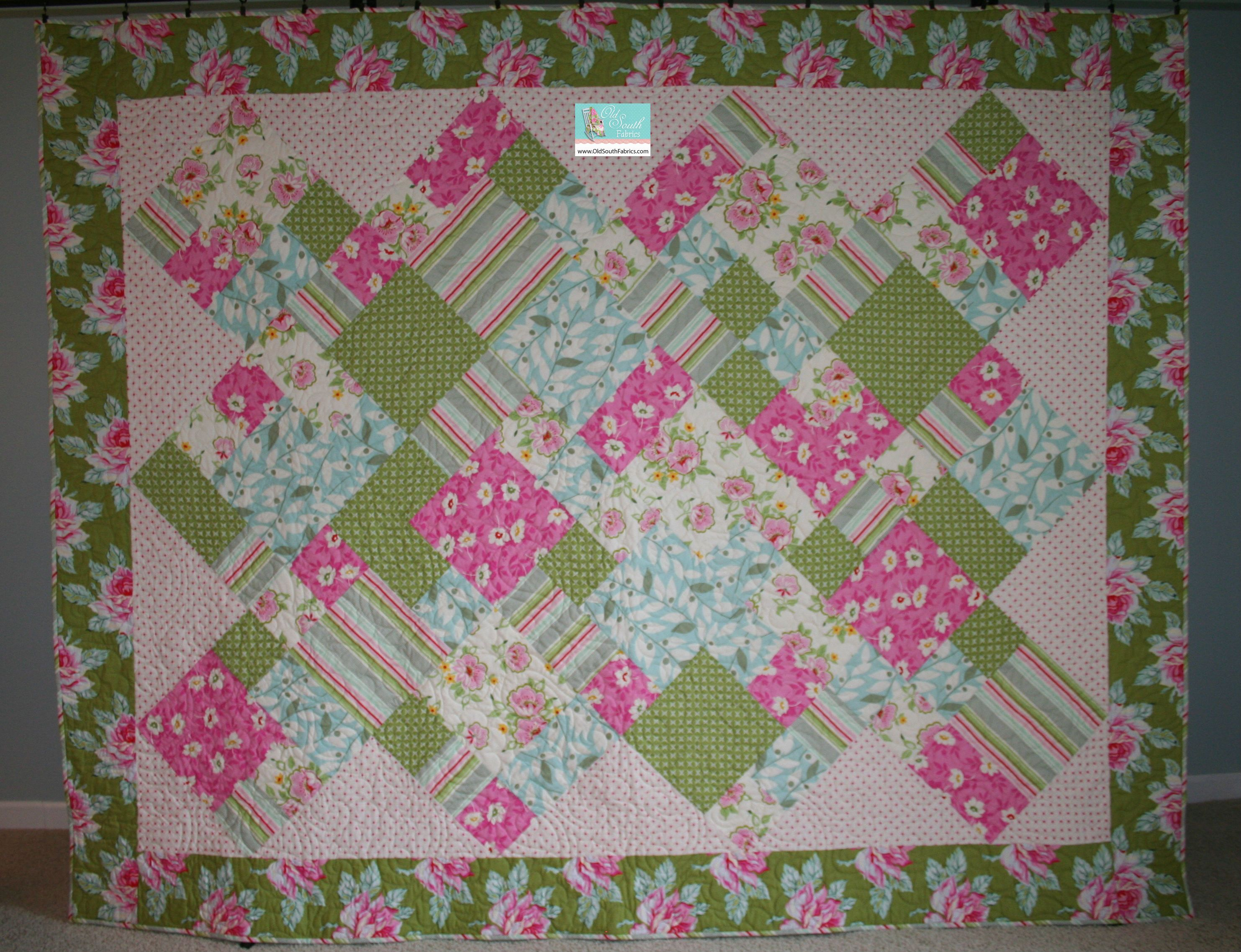 Pattern is  Take 5 Gets the Point . Quilt made by Wanda at ... : take 5 quilt pattern free - Adamdwight.com