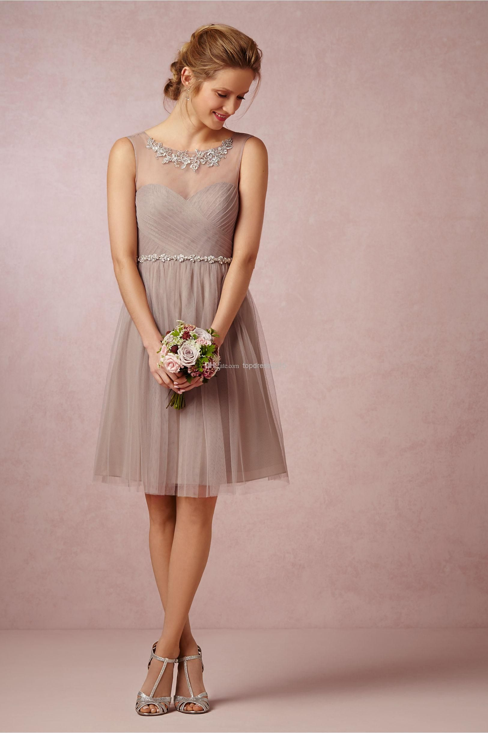 Ruched and Pleated Bridesmaid Dresses | Party gowns, Bridesmaid ...