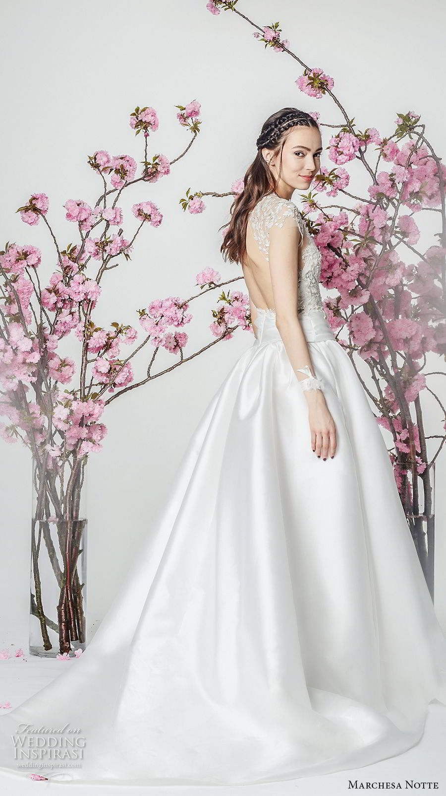 Marchesa notte spring wedding dresses marchesa chapel train