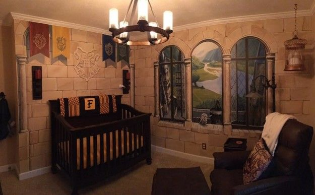 If You Love Harry Potter Check Out These Themed Nurseries For Decorating Ideas