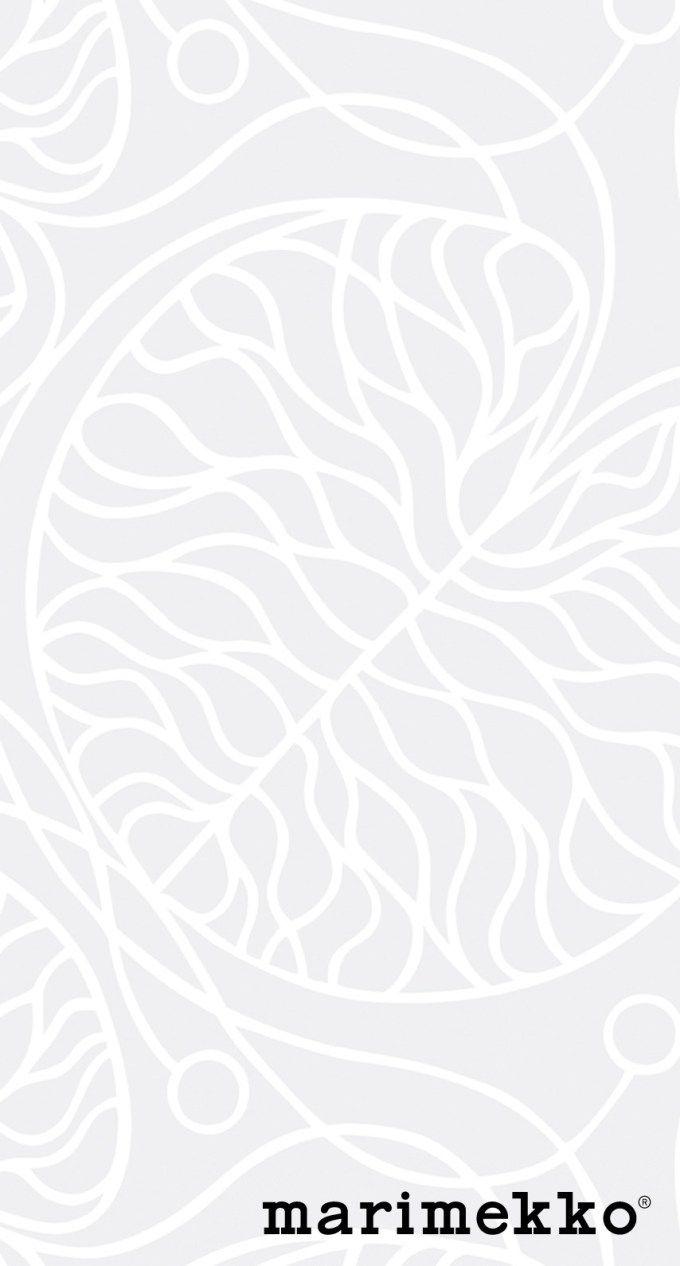 マリメッコ/ネイチャーパターン4 iPhone壁紙 Wallpaper Backgrounds iPhone6/6S and Plus  Marimekko Nature Pattern iPhone Wallpaper