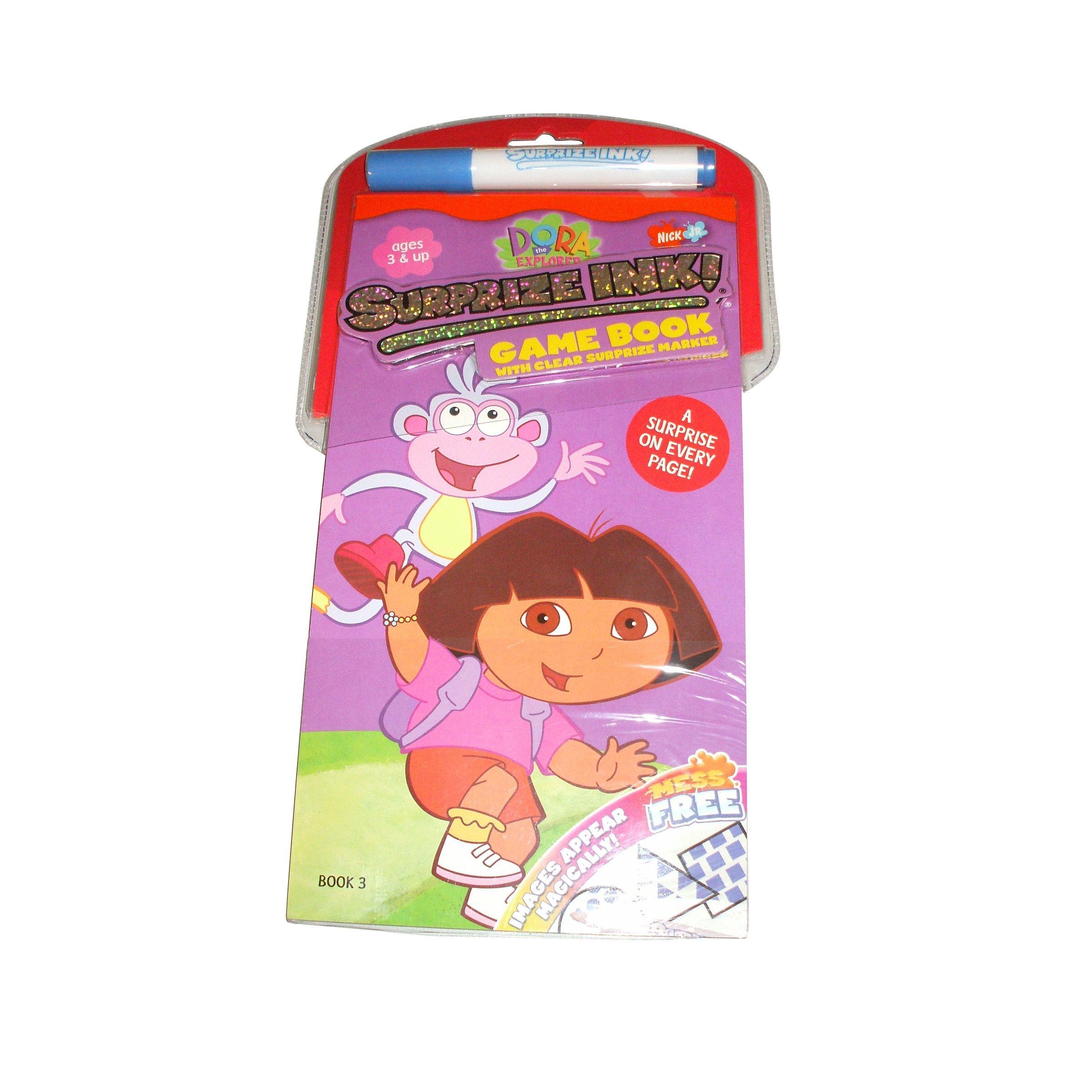 Surprize Ink Dora Game Book And 1 Marker Dora games