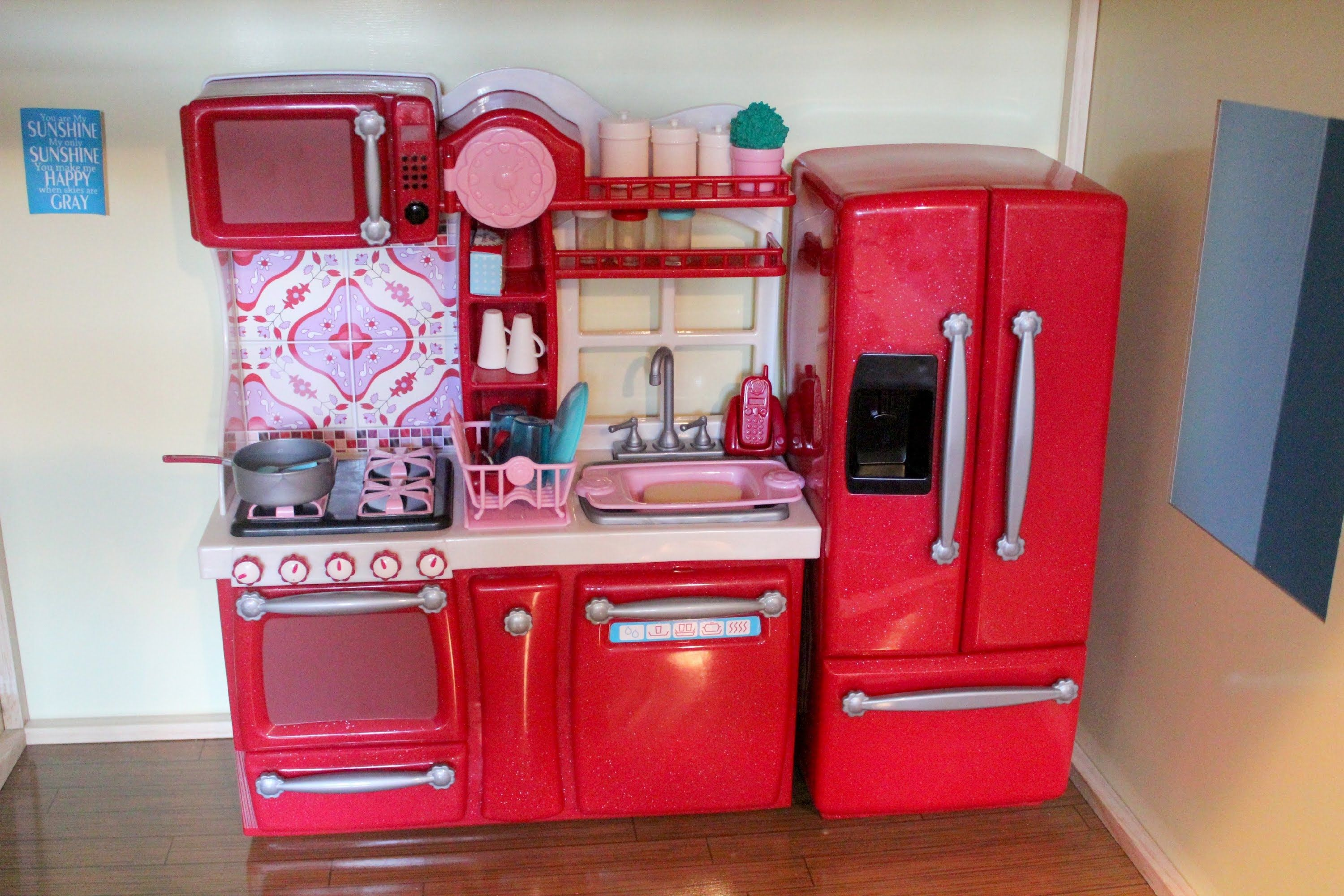 Our Generation Kitchen Set Red Cheap Toys Kids Toys
