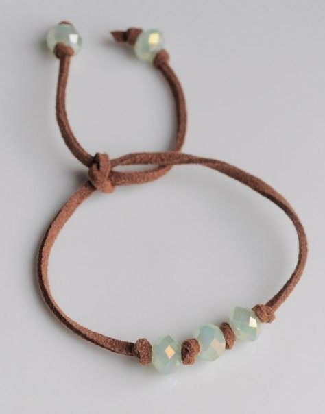 Suede Cord Bracelet...