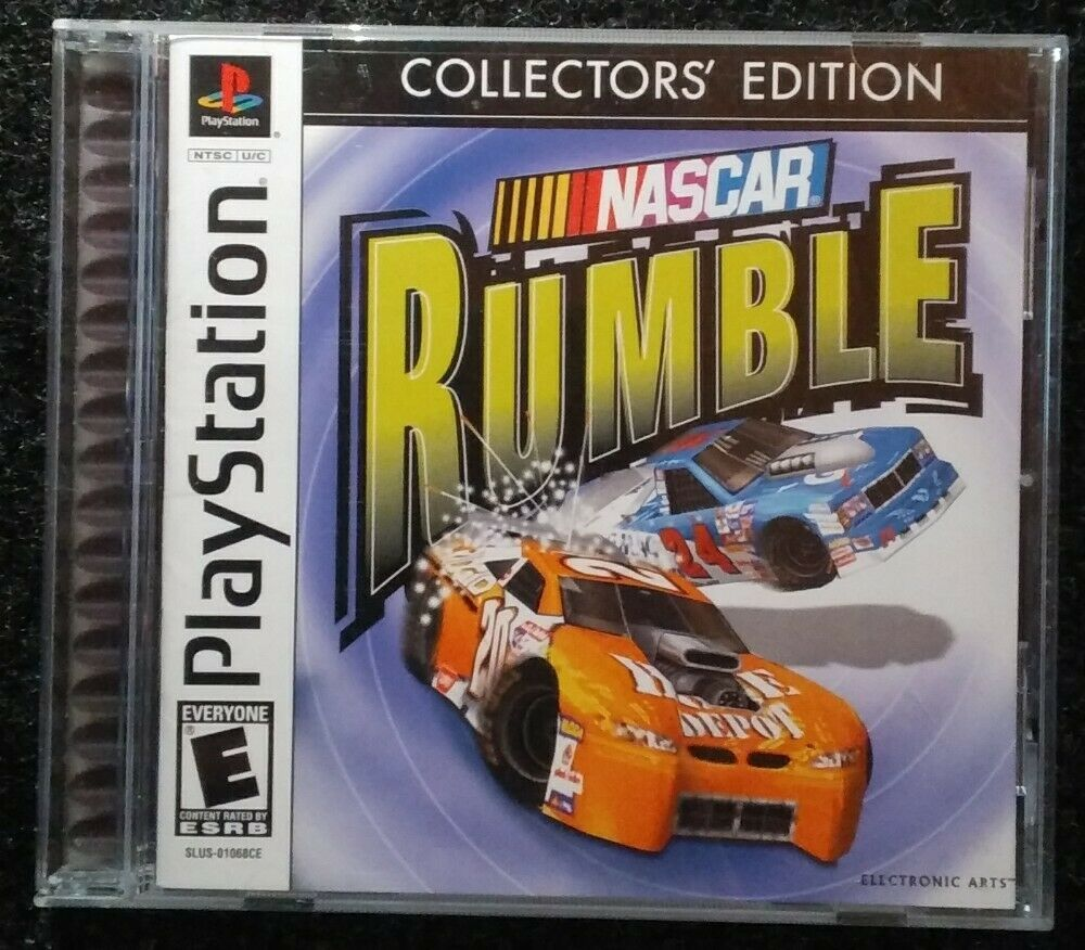 Nascar Rumble Collectors Edition Ps1 Playstation 1 One Complete