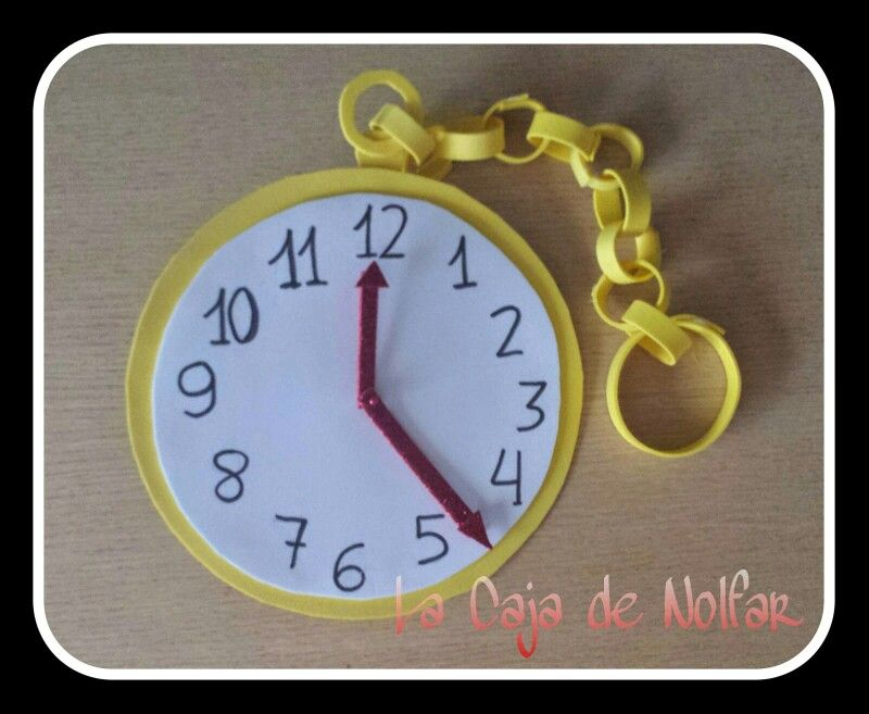 Reloj Goma Eva Reloj Gomitas Manualidades