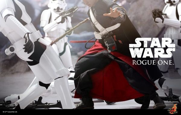 Hot Toys Teases Star Wars: Rogue One Chirrut iMWE 1/6 Scale Figure #StarWars