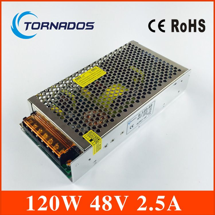120w 48v 2 5a Single Output Switching Power Supply 48v Dc For Led Strip Light Ac To Dc Led Driver S 120 48 Led Power Supply Electrical Equipment Power Supply