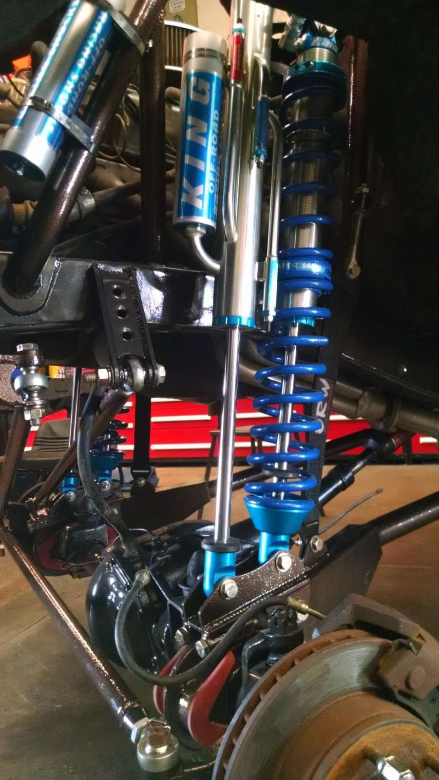 66-77 Ford Bronco Coilover and Bypass kit | bronco | Ford