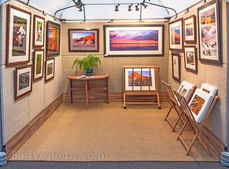 Bors Vesterby Http Www Landstrider Photography Com Propanels Art Fair Booth Art Festival Booth Art Fair Display
