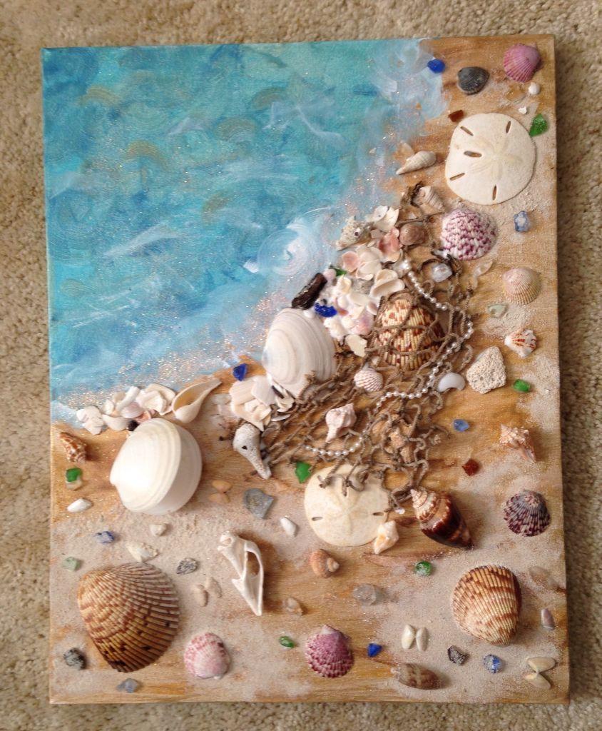 картинки из природного материала морские что носили наши