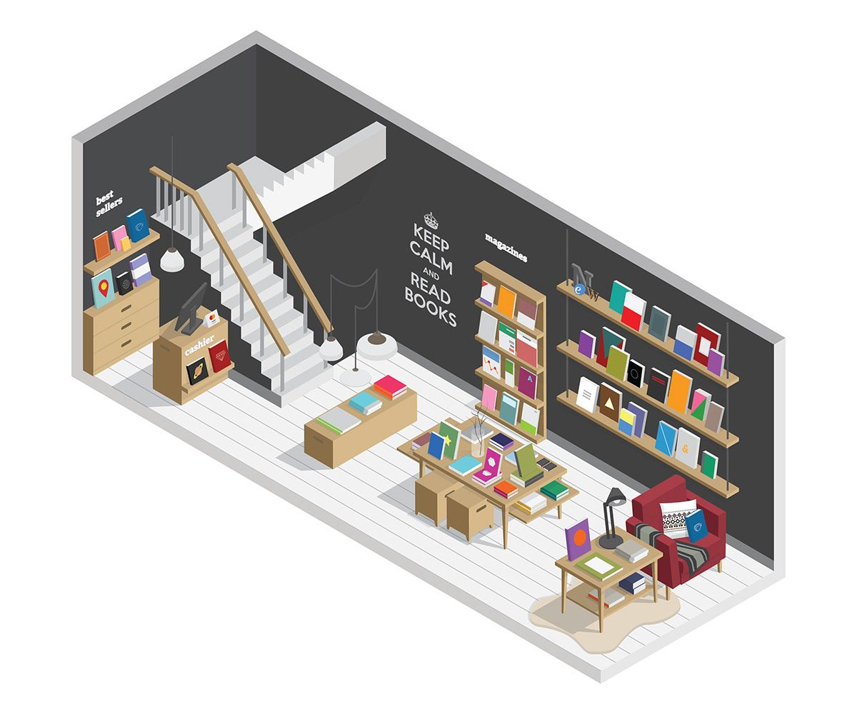 Bookstore on Behance Bookstore, Gentleman store