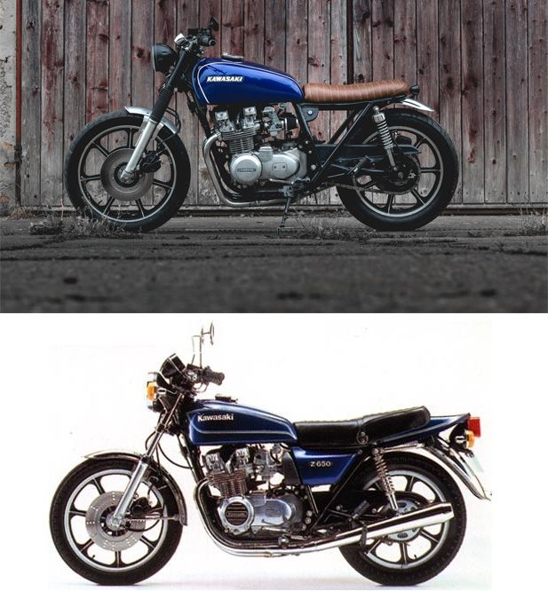 Kaspeed's Kawasaki KZ650 Brat / Restomod | Moto | Kawasaki