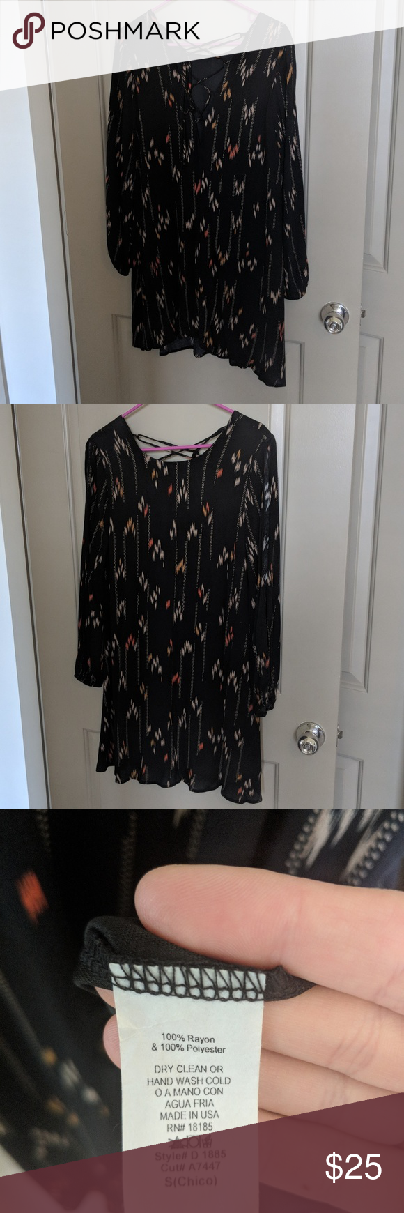 flowy long sleeve dainty hooligan dress my posh picks