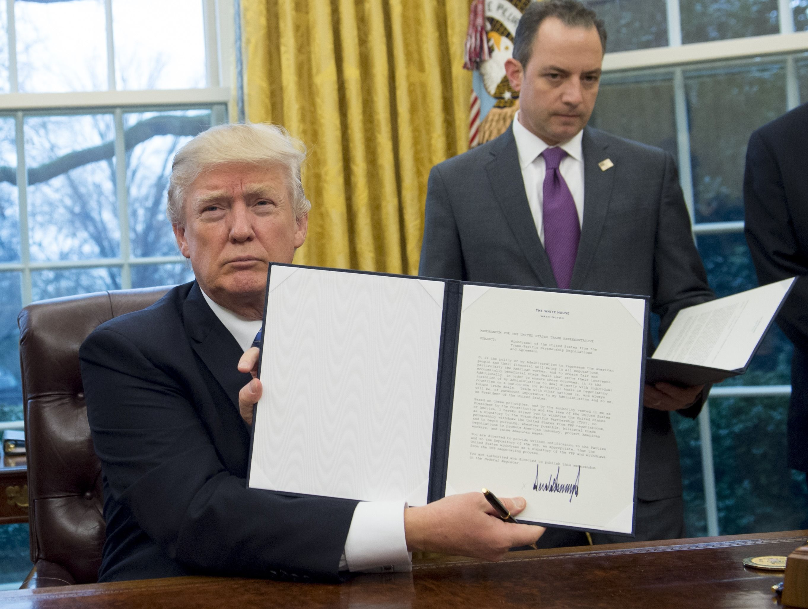 Fedex Jobs Entrancing Psbattle Trump Signs Memo To Leave Tpp Trade Pact  Funny Photoshop .