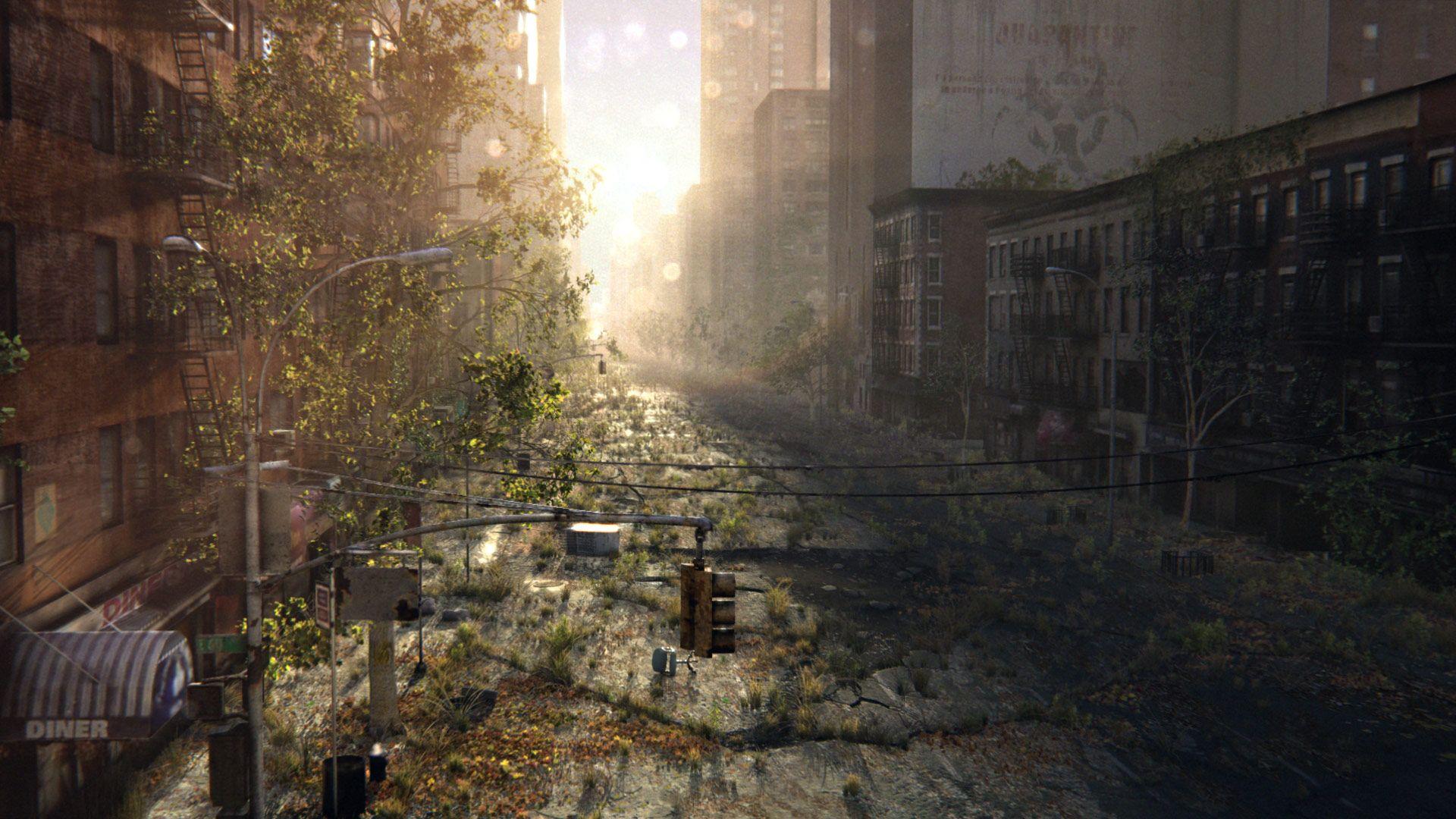 Centre-Ville en ruine