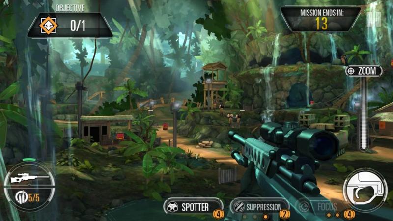 Sniper X with Jason Statham v1.5.4 [Mega Mod] Apk Mod Data