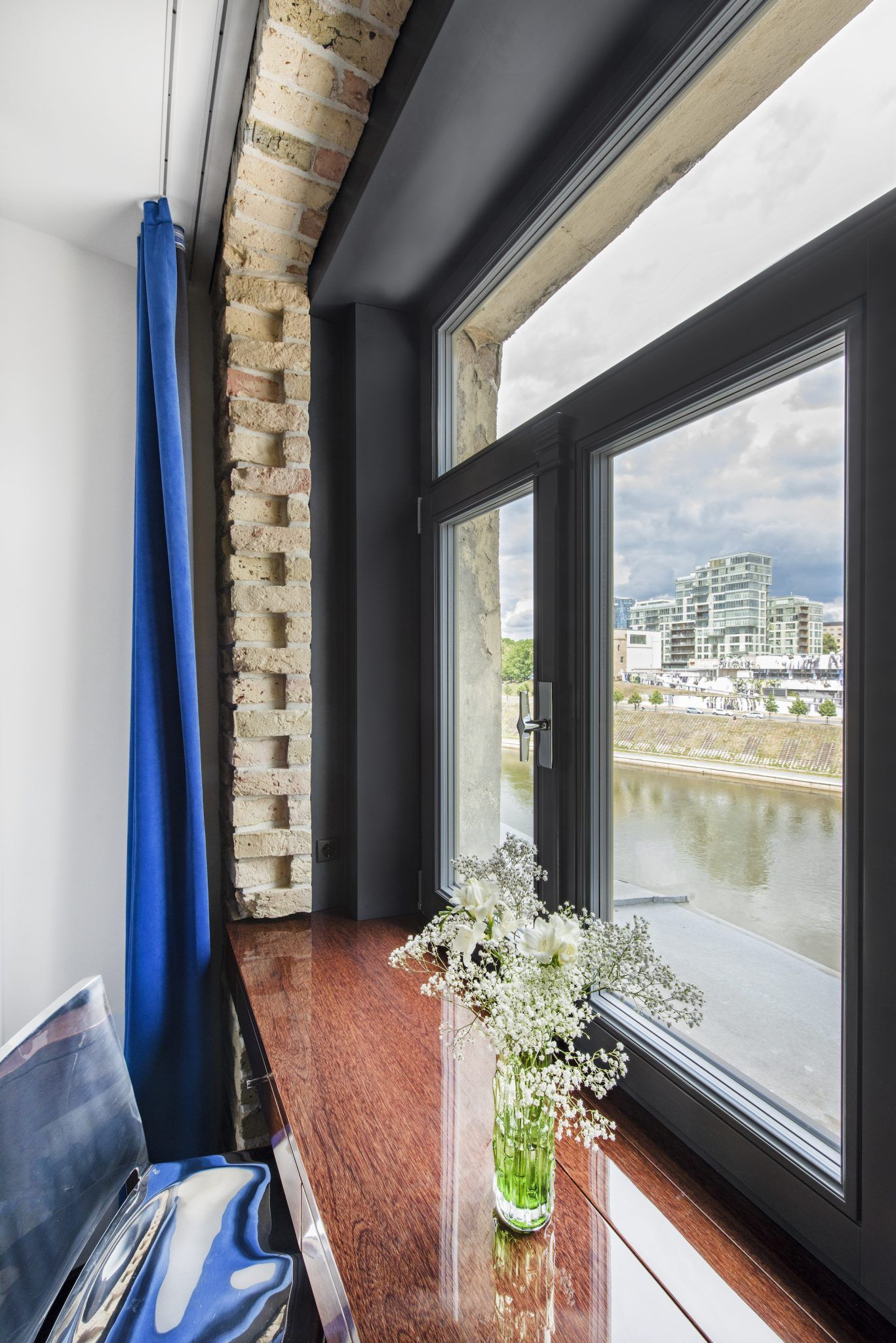 Wooden Window Sill Table By Baldų Mozaika Signature Hotel Wooden Windows Window Sill