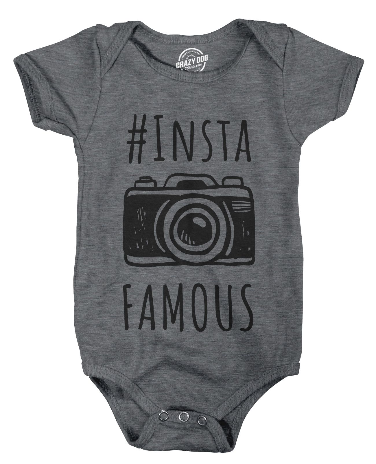 Creeper Instafamous Baby Jumpsuit Adorable Social Media Bodysuit For N
