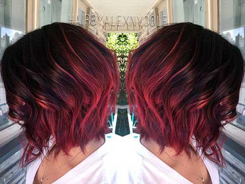 40 Ombre Hair Vermelhos Fotos Como Fazer Dicas Tutorial