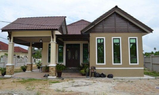 Warna Cat Rumah Kampung Desainrumahid Com