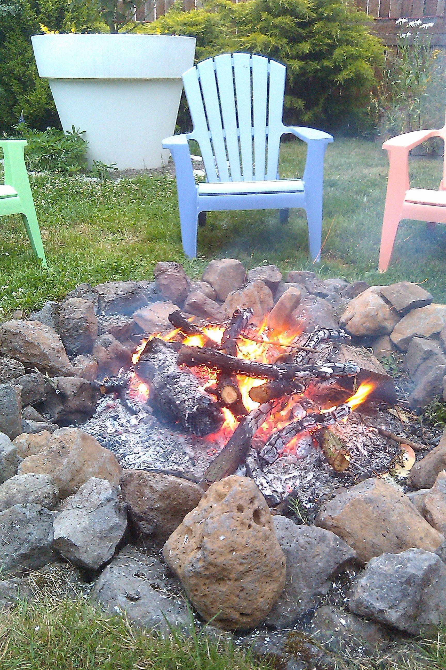 Backyard fire pit. Almost looks identical lol. | Gazebo ...