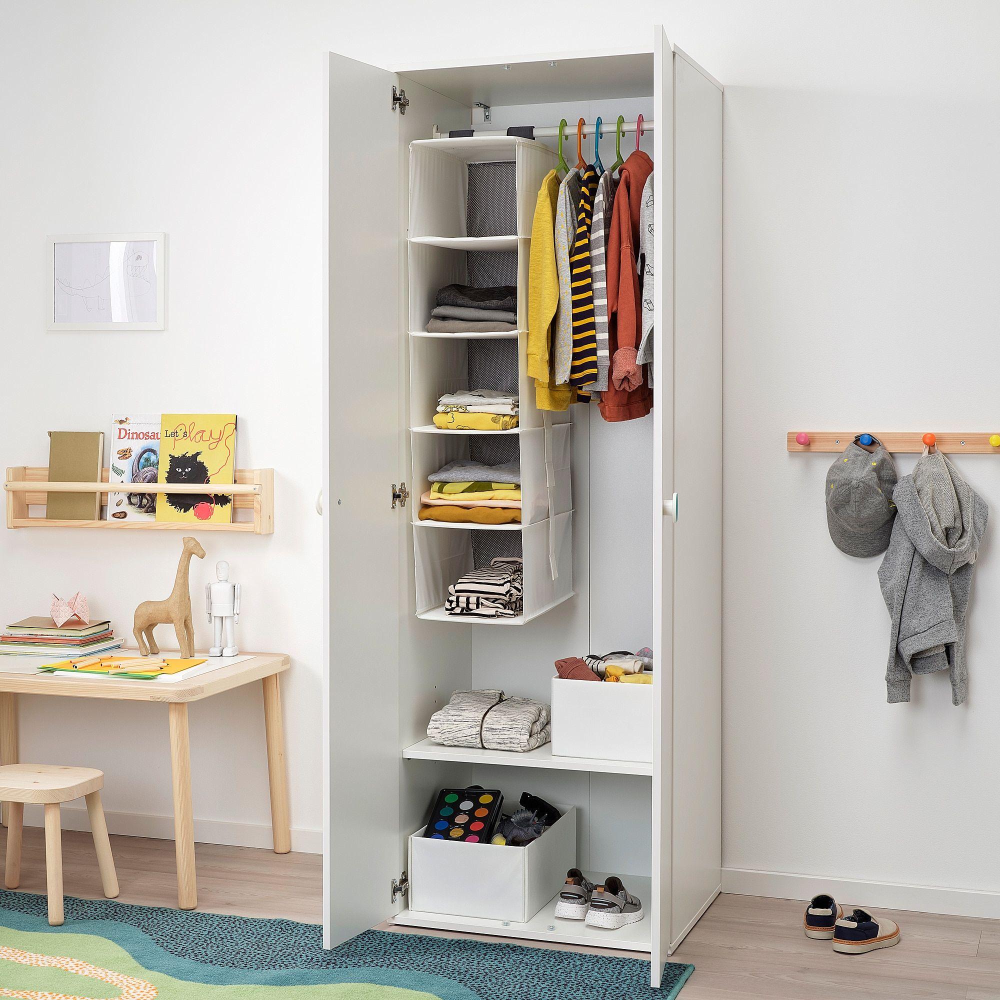 GODISHUS Kleiderschrank weiß Kleiderschrank weiss, Ikea