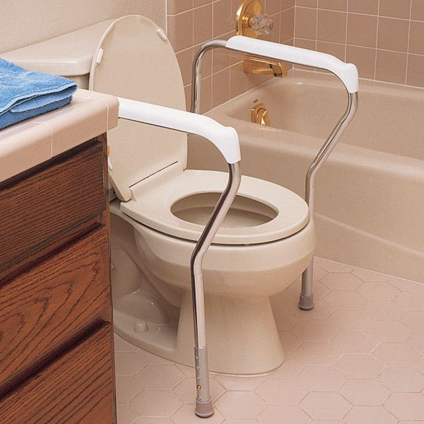 Toilet Safety Frame $29.95 | Bathroom safety | Pinterest | Safety