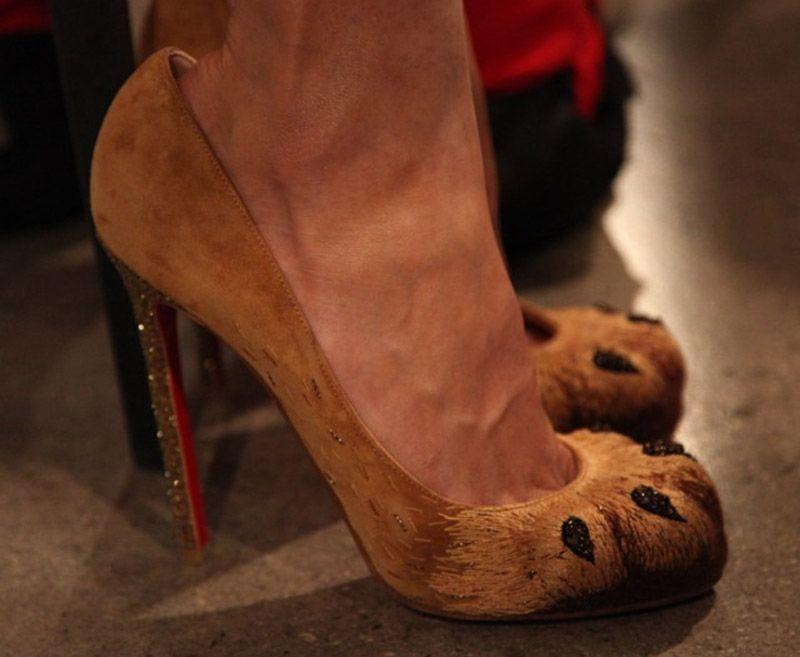 christian louboutin lion paw pumps price