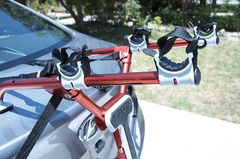 Trailer Hitch Rack can be used to haul all types of cargo