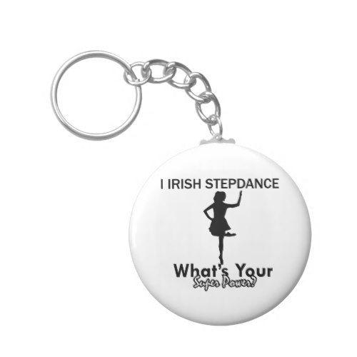 irish Step dance designs Keychain