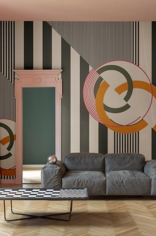 Carta Da Parati Gio Pagani.Get Modern Art On A Large Scale With Cherry Bomb Wallpaper By Gio
