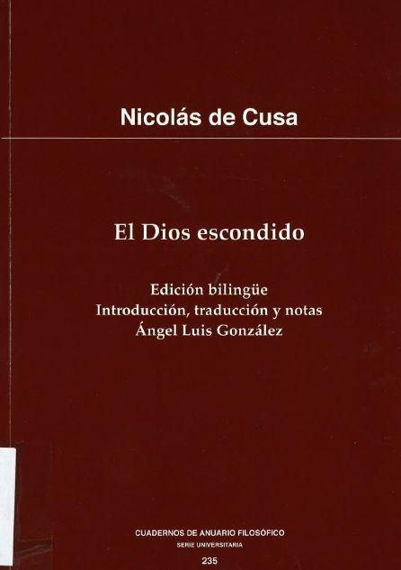 NICOLAU DE CUSA PDF