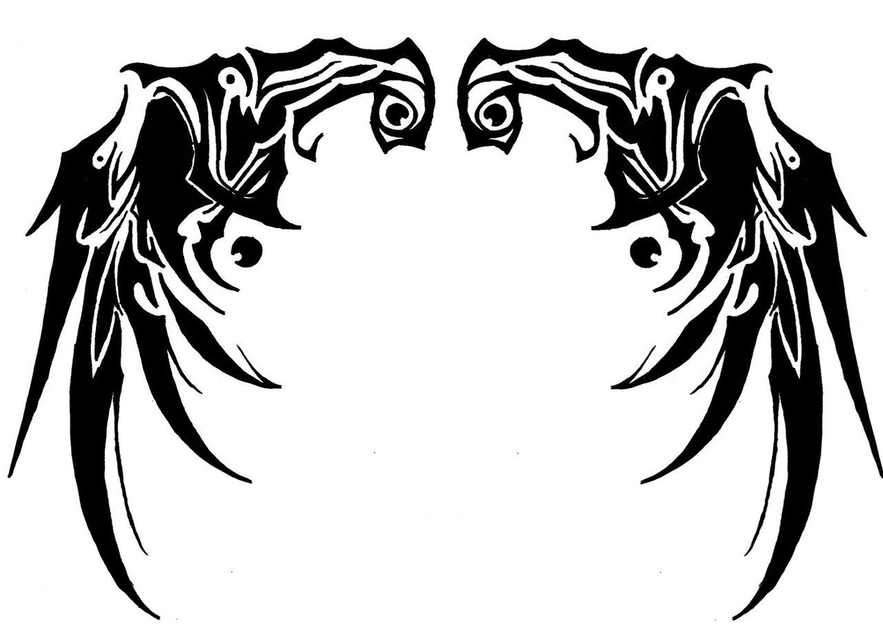 Tattoo Wings Tribal