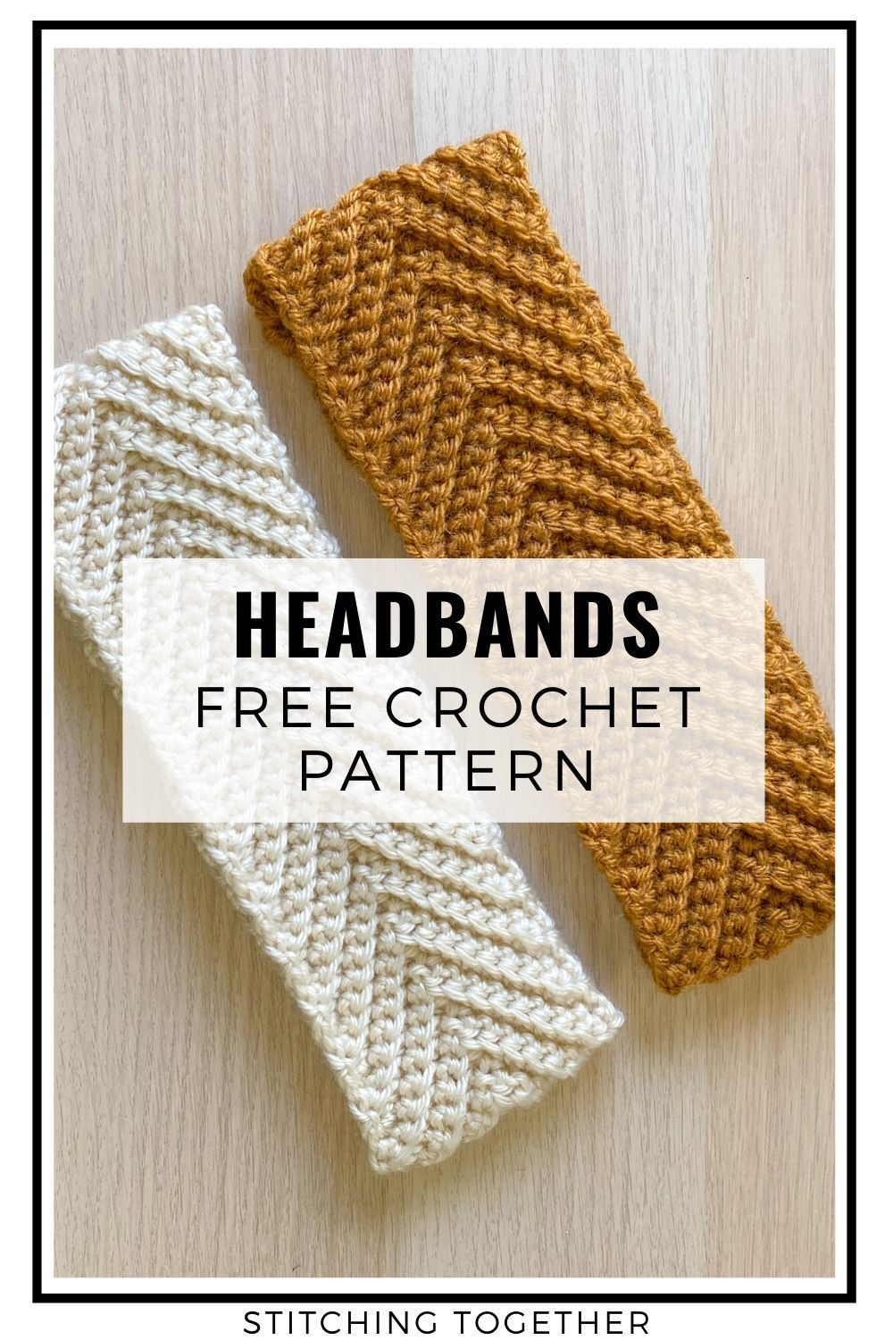 Photo of Chevron Headband Crochet Pattern | Stitching Together