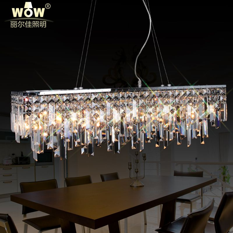 Rectangular crystal chandelier modern rectangular crystal rectangular crystal chandelier modern rectangular crystal chandelier price mozeypictures Images