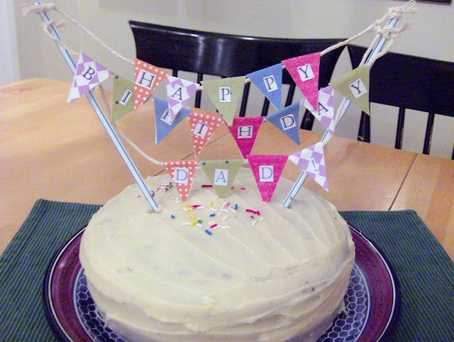Shine Your Light: Cake Bunting and Camera Woes