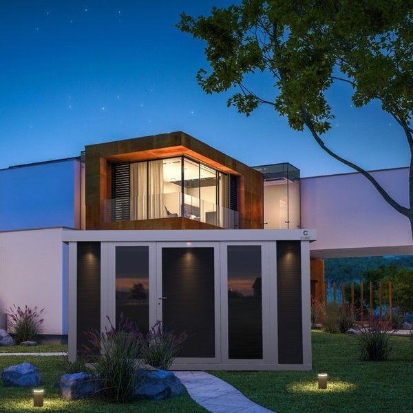 CUBEfx Outdoor Garden Rooms from Garden House Design. The