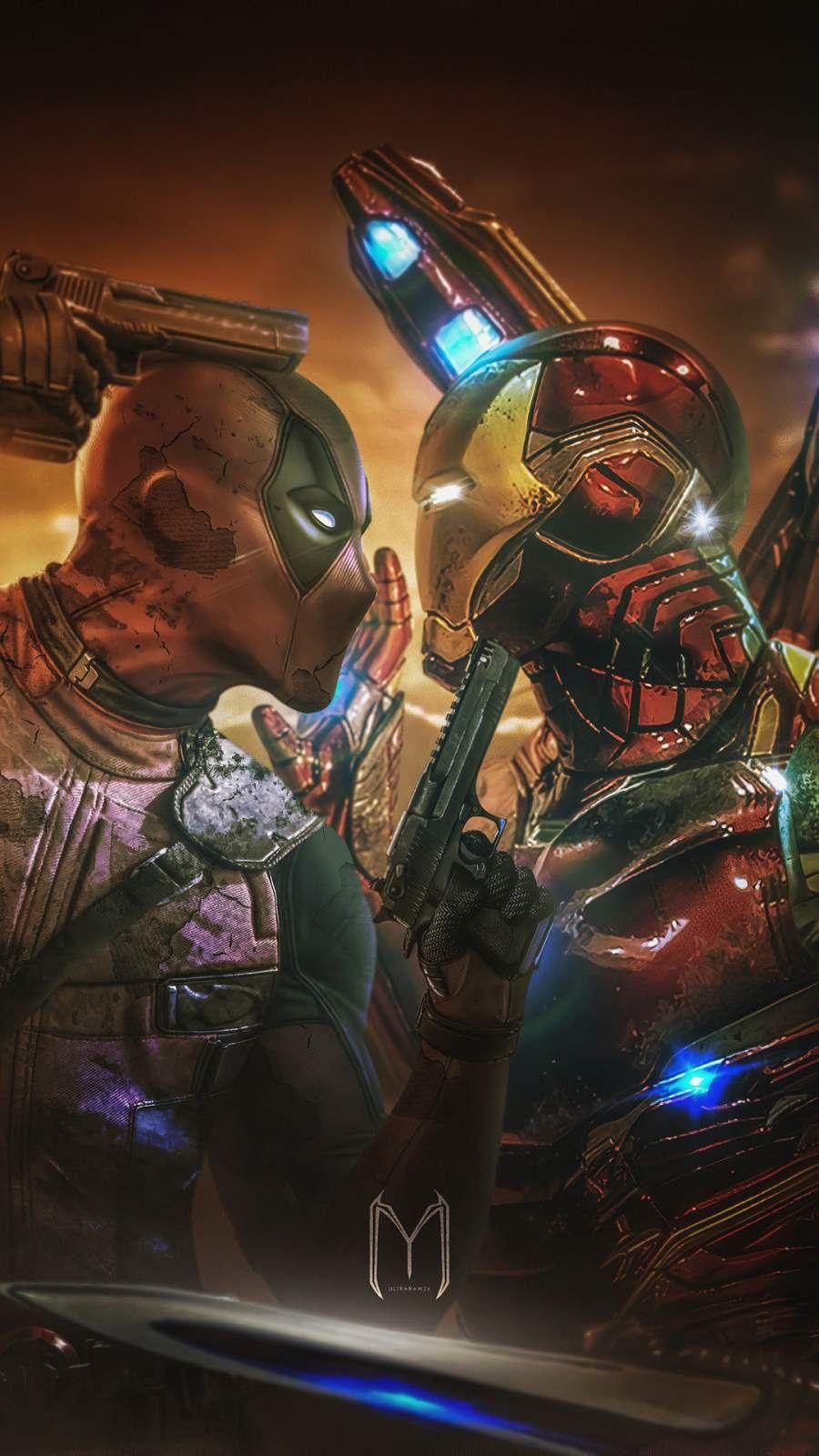 Deadpool Vs Iron Man Iphone Wallpaper Marvel Superhero Posters Superhero Wallpaper Deadpool Hd Wallpaper
